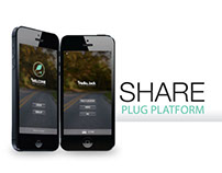 """Share Plug Platform"" - Interaction Design"
