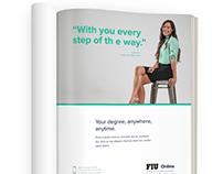 FIU Online Web/Print presence