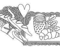 Illustrations for www.mycheese.ru
