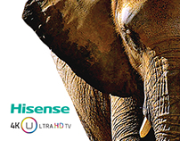 Hisense Ultra HD LED TV