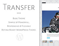 Transfer - Retina Responsive WordPress Blog Theme