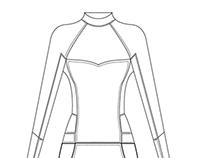 Roxy Wetsuits Artwork