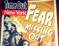 TimeOut New York Cover and Article Spread