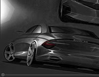 Mercedes-Benz Sedan Study