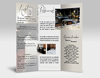 brochure for a Hotel