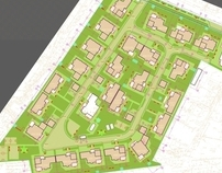 Project of housing estate - 2008