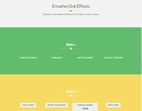 Creative Link Element - Rare Ultimate WordPress Theme