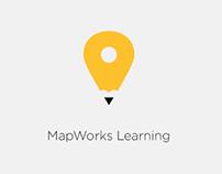 MapWorks Learning branding