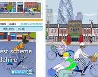 TFL - Barclays Cycle Hire Launch Takeovers