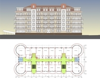 Project of a hotel complex