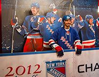 NY Rangers 3D Fan Cutout
