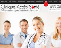 WEB | CLINIQUE ACCÈS SANTÉ