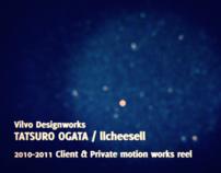 The showreel 2010-2011 - TATSURO OGATA / llcheesell