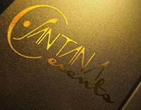 C Santana Events | Brand Identity Design