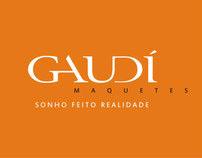 GAUDÍ Maquetes - Slogan, identidade, website