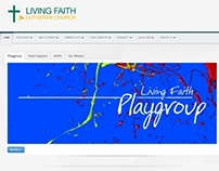Living Faith Lutheran Church - New Joomla website.