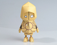 [ LOL ][ Blitzcrank ] Paper toy of Boogiehood