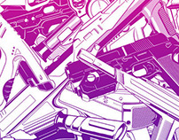 Retrogaming : Light Guns (Colour Version)