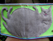 Fat Cat Fantasy: Leather Binder