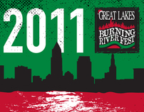 Great Lakes Burning River Fest T-Shirt Contest