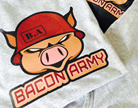 Bacon Army Logo