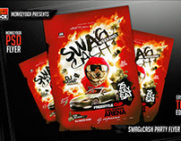 Swag&Cash Party Flyer