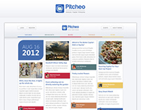 Pitcheo Website Layout