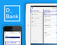 D_Bank, Mobile Application