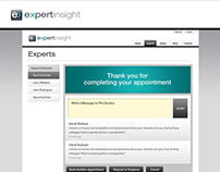 ExpertInsight Website Layout