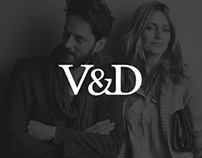 Mobile Website for V&D