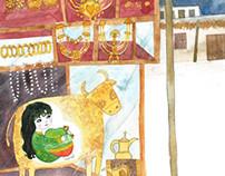 The Golden Cow البقرة الذهبية-Folklore Story from Qatar