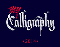 My Calligraphy 2014 [extended]