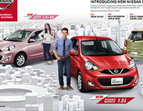 Nissan March - Trendsetter in the City