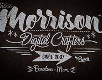 Lettering Morrison by Brusco Art Works