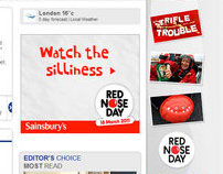 Sainsbury's - Red Nose Day Takeover
