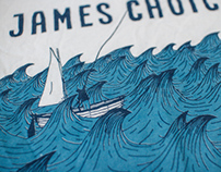 "James Choice ""Whales"" T-Shirt"