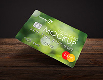 2 Free Credit Card MockUps in 4k