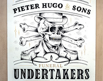 PIeter Hugo studio signage