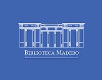 Biblioteca Madero - Branding