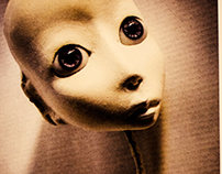 Playing with Ceramics Dolls.