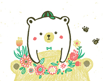 Mum and baby bear