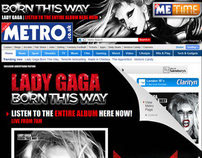 Lady Gaga - 'Metro Exclusive' Album Launch Takeover
