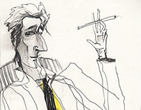 Adrien Brody. Portrait