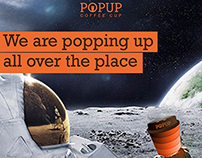 Nescafe Product Innovation - POP UP Coffee Cup