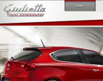 Alfa Giulietta - RealExperience - Micro site