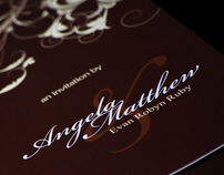 Angela & Matt's Wedding Invitation