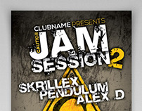 Jam Session Party Flyer Template