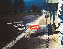 Don't stalk me - stalk Levis – Editorial Project