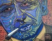 "Contemporary Art: ""Tribute to: Jackson Pollock"""