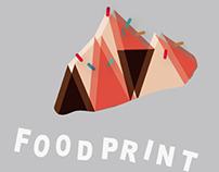 APP Concept & UI / Food Print